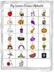 Monkey Cursive Alphabet Posters - Rainbow Polka Dot