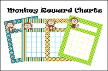 Monkey Incentive Reward Charts