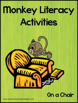 Literacy Activities and Book - Monkeys On a Chair