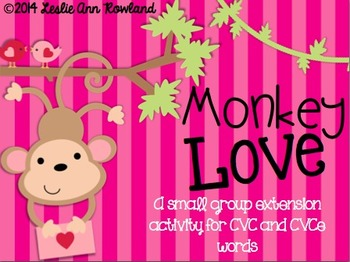 Monkey Love ~ A small group extension activity for Long/Sh