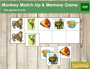 Monkey Match-Up and Memory