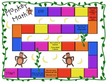 Monkey Math Fractions