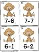 Autism or Kindergarten: Monkey Math Game Bundle