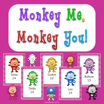 Monkey Me, Monkey You! Oral Interaction Activity