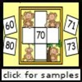 Monkey Missing Numbers (1.NBT.1, 1.NBT.5)