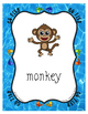 Monkey, Money and More ~ Letter M Focused Go Fish Card Gam