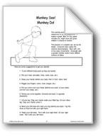 Monkey See! Monkey Do! (Motor Skills)
