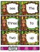 Monkey See. . . Monkey Read {A Sight Word Reading Fluency