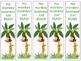 Monkey Themed Bookmarks