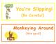 Monkey Themed Clip Chart
