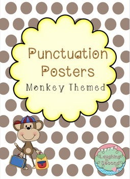 Monkey Themed - Punctuation Posters