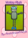 Monkey Zoo Animal Fun Glyph Craftivity