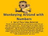 Monkeying Around with MathPlace Value Pocket Chart and Car
