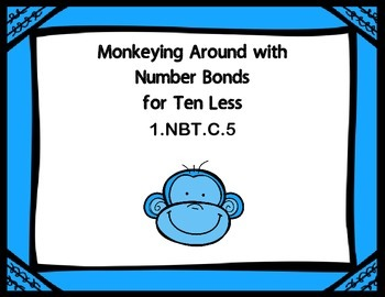 Monkeying Around with Number Bonds for Ten Less