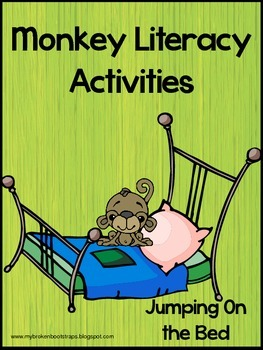 Literacy Activities and Book - Five Little Monkeys Jumping