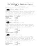 Monkey's Paw Projects