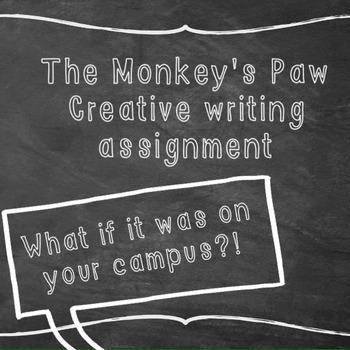 Monkey's Paw writing prompt