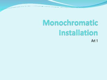 Monochromatic Powerpoint