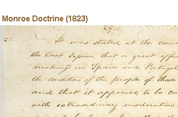 Monroe Doctrine Close Reading and Socratic Seminar