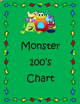 Monster 100's Chart Numbers