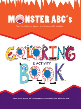 Monster ABC's Coloring Book, Hard Copy