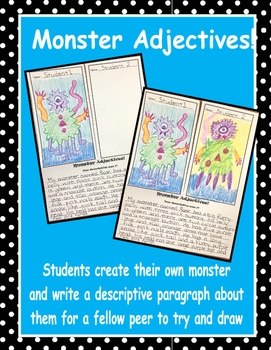 Monster Adjectives!