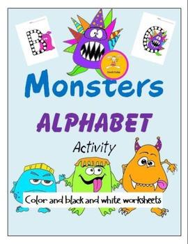 Monster Alphabet Dots Learning Center