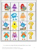 Monsters Math & Literacy File Folder Games Autism Special