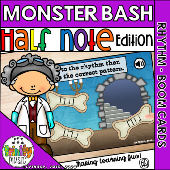 Monster Bash (Half Note) Interactive Game
