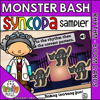 Monster Bash (Syncopa) Interactive Game FREEBIE