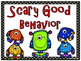 Monster Buddies Themed Behavior Clip Chart