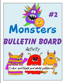 Monster Bulletin Board Activity 2