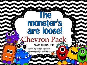 Monster Chevron Decor Pack