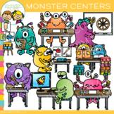 Monster Classroom Centers Clip Art