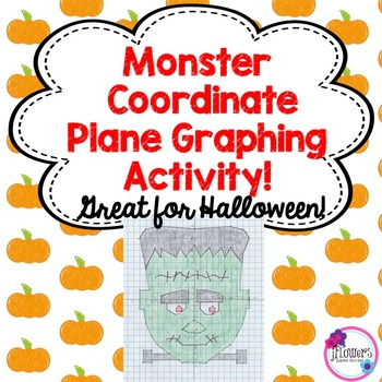 Monster Coordinate Plane Graphing Activity! Great for Halloween!