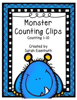 Monster Counting Clips 1-10