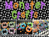 Monster Craftivity - ENGLISH & SPANISH