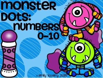 Monster Dots: Numbers 1-10