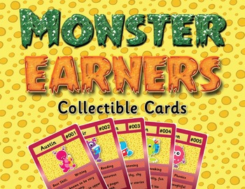 Monster Earners Collectible Cards - Behavior Incentive / C