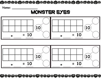 Monster Eyes - Decomposing 10
