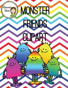 Monster Friends ClipArt