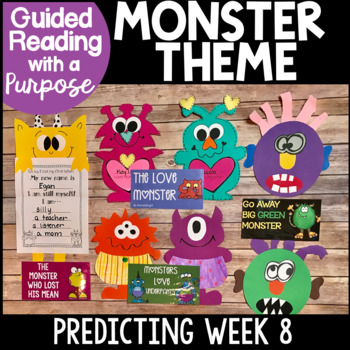 Monsters Bundle...Reading, Writing, Math, Word Work & Crafts