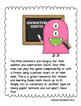 Monster Fun Facts