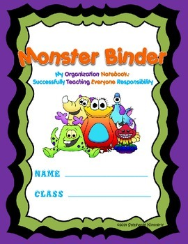 Monster {Furry Friend or Critter} Binder Cover