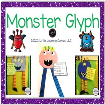 Monster Shape Glyph - Craftivity