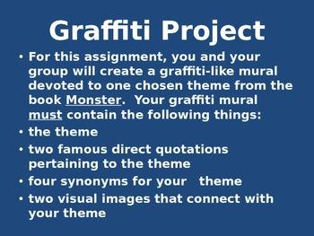 """""""Monster"""" Graffitti Project"""