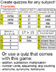 Monster Hatch Review Game for any Subject - Quiz-E SmartBo