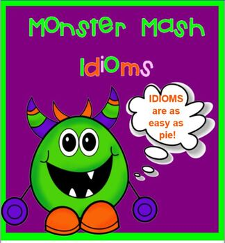 Monster Idiom Jeopardy