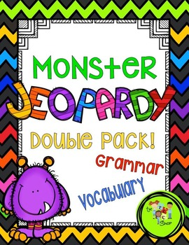 Monster Jeopardy DOUBLE PACK!!!