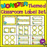 Monsters Labels